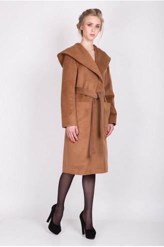 "Демисезонное пальто ""LADY C"" шоколад"