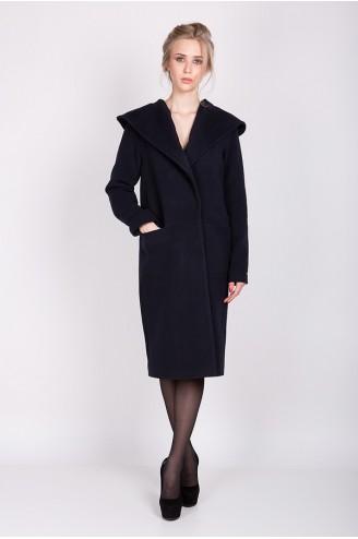 """Кашемировое пальто """"LADY C"""" синее"""