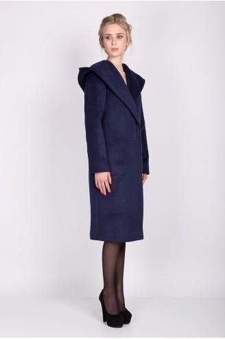 """Демисезонное пальто """"LADY C"""" синее"""