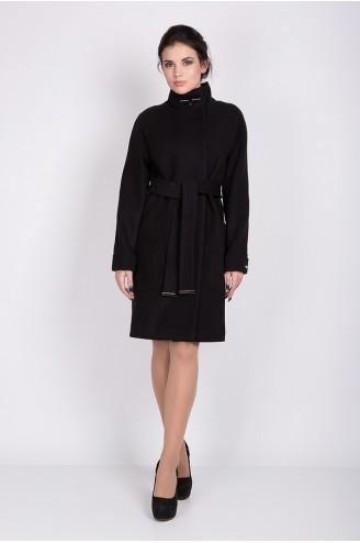 """Женское пальто """"ALBA"""" черное"""