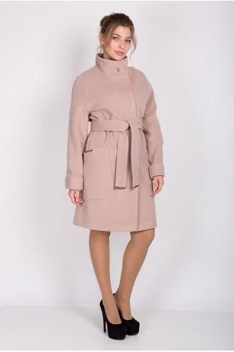 """Женское пальто """"ALBA"""" бежевое"""