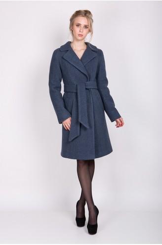 """Зимнее пальто """"ELIZABET"""" бирюза"""