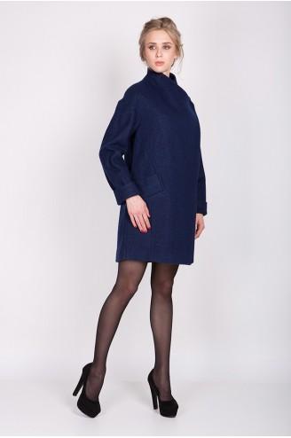 "Зимнее пальто ""IVANKA"" синее"